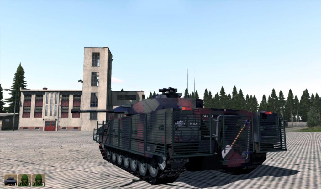 弱者の日記^^Arma 2 用で Leopard 2A6 や CV 9040 を持つオランダ軍 MOD が v0.989RC でバスの追加など