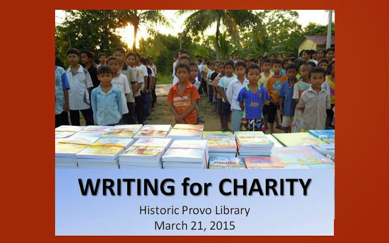 Writing for Charity