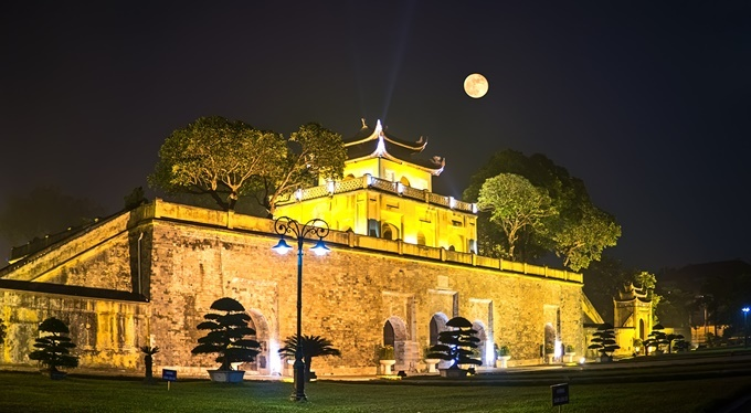 Imperial Citadel of Thang Long in Hanoi, Vietnam