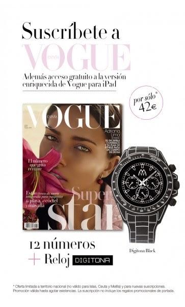 Regalo por suscripción Julio 2014: Vogue