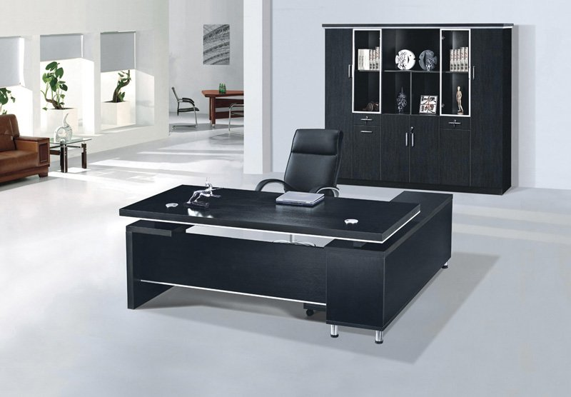 Black Office Desks
