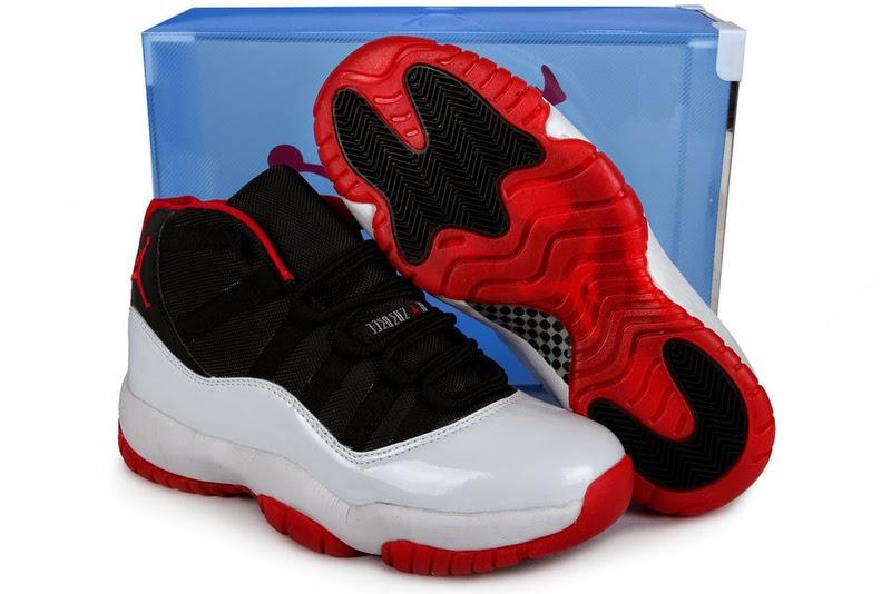 Nike Air Jordan 11 XI Chicago Bulls Mens Shoes 2013 White Black
