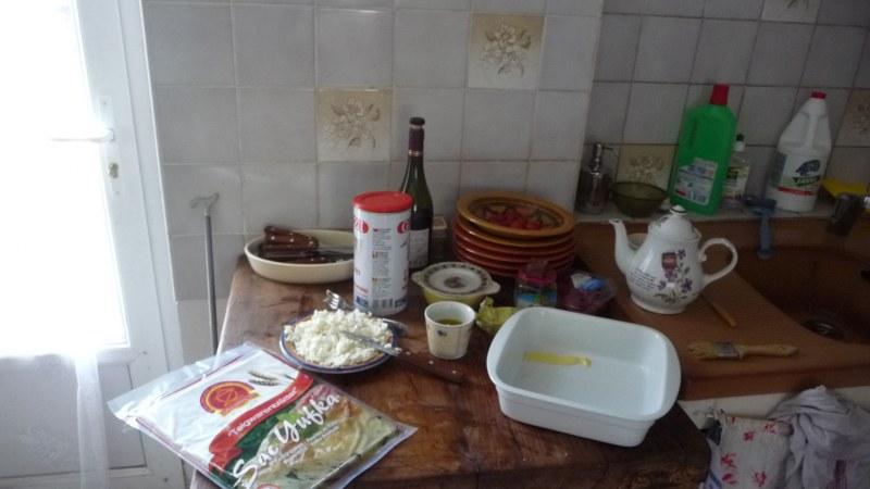 Meduse de bourg bas: op de zondag börek maken