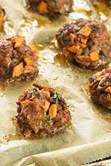 Nom Nom Paleo Asian Meatballs + NYT Tomato Sauce