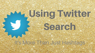 Using Twitter Search - It's More Than Just Hashtags, Jo Linsdell, www.JoLinsdell.com #Twitter