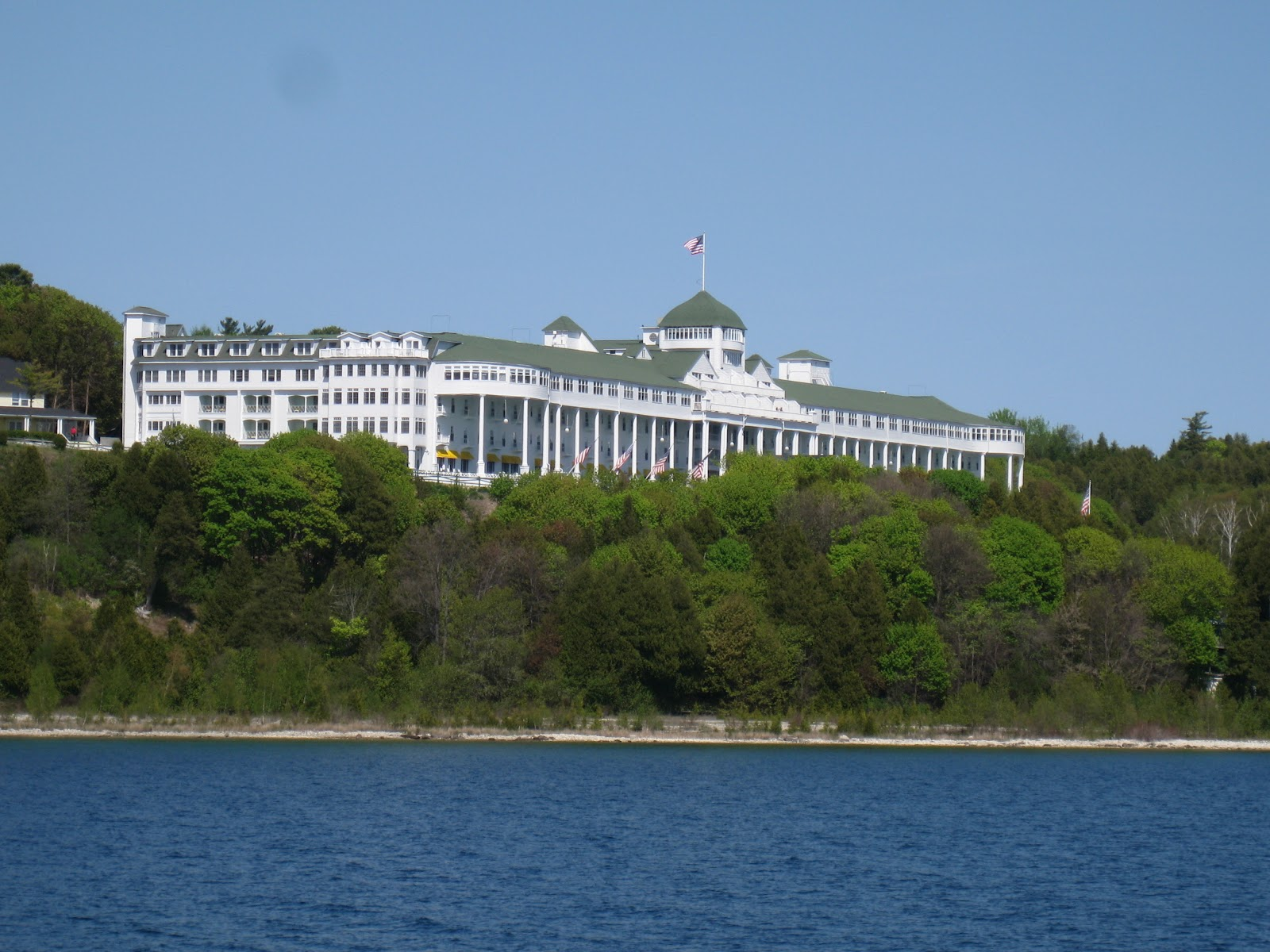 Download this Day Ferried Across The Straits Mackinac Island This Morning picture