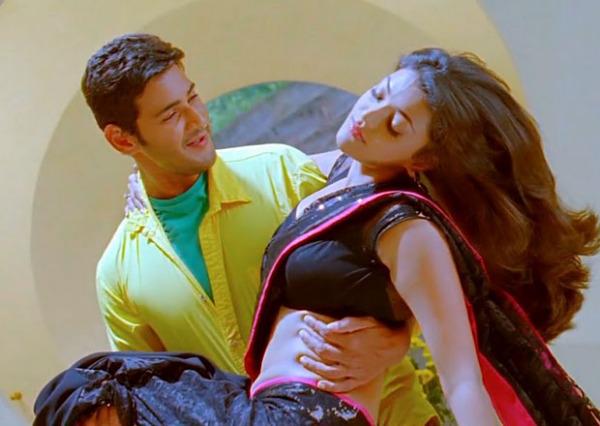 Bollywood Steam: Kajal Agarwal Kissing Mahesh Babu