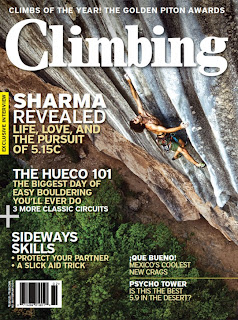 Climbing Magazine February 2011