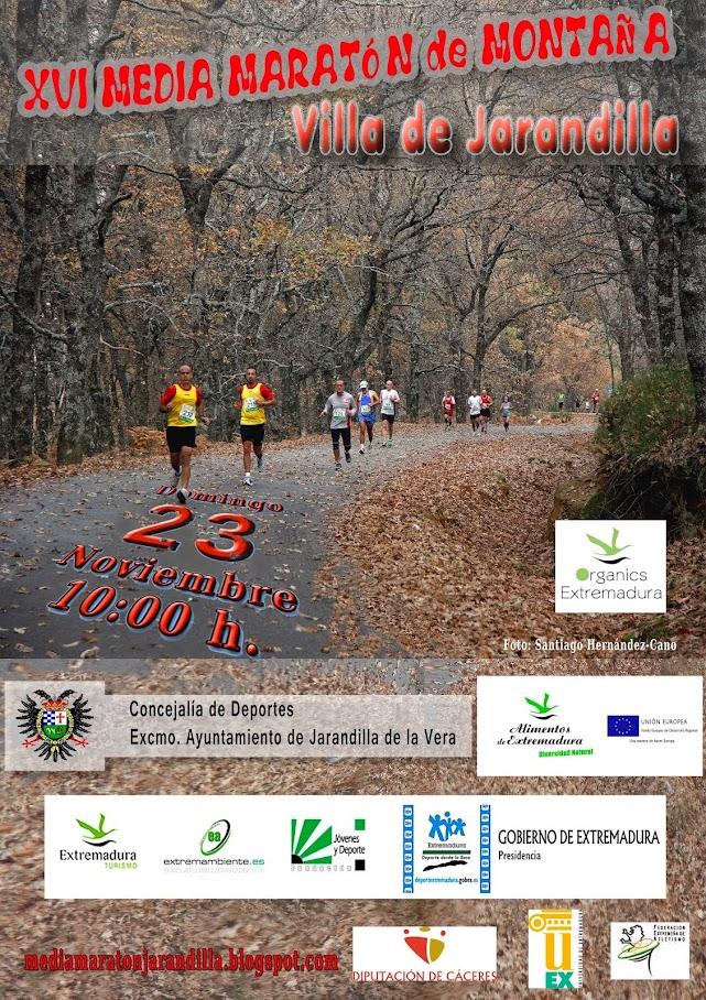 """XVI Media Maratón de Montaña """"Villa de Jarandilla"""""""