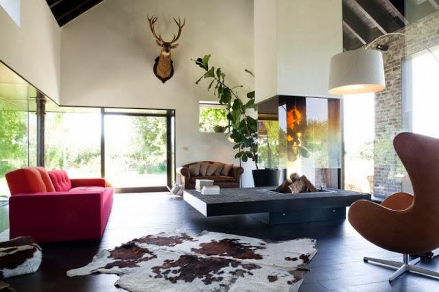 Sanierung der Fensterflächen im Bauernhaus - besseres Raumgefühl für Design