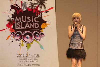 Sunny SNSD MC SBS MTV Music Island