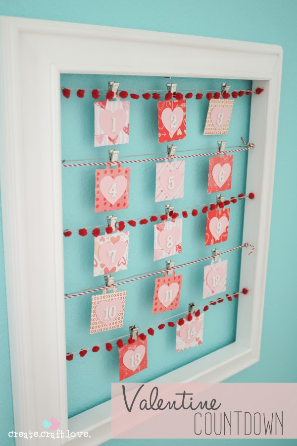 Romantic Advent Calendar Ideas : Valentine s day days ways to countdown