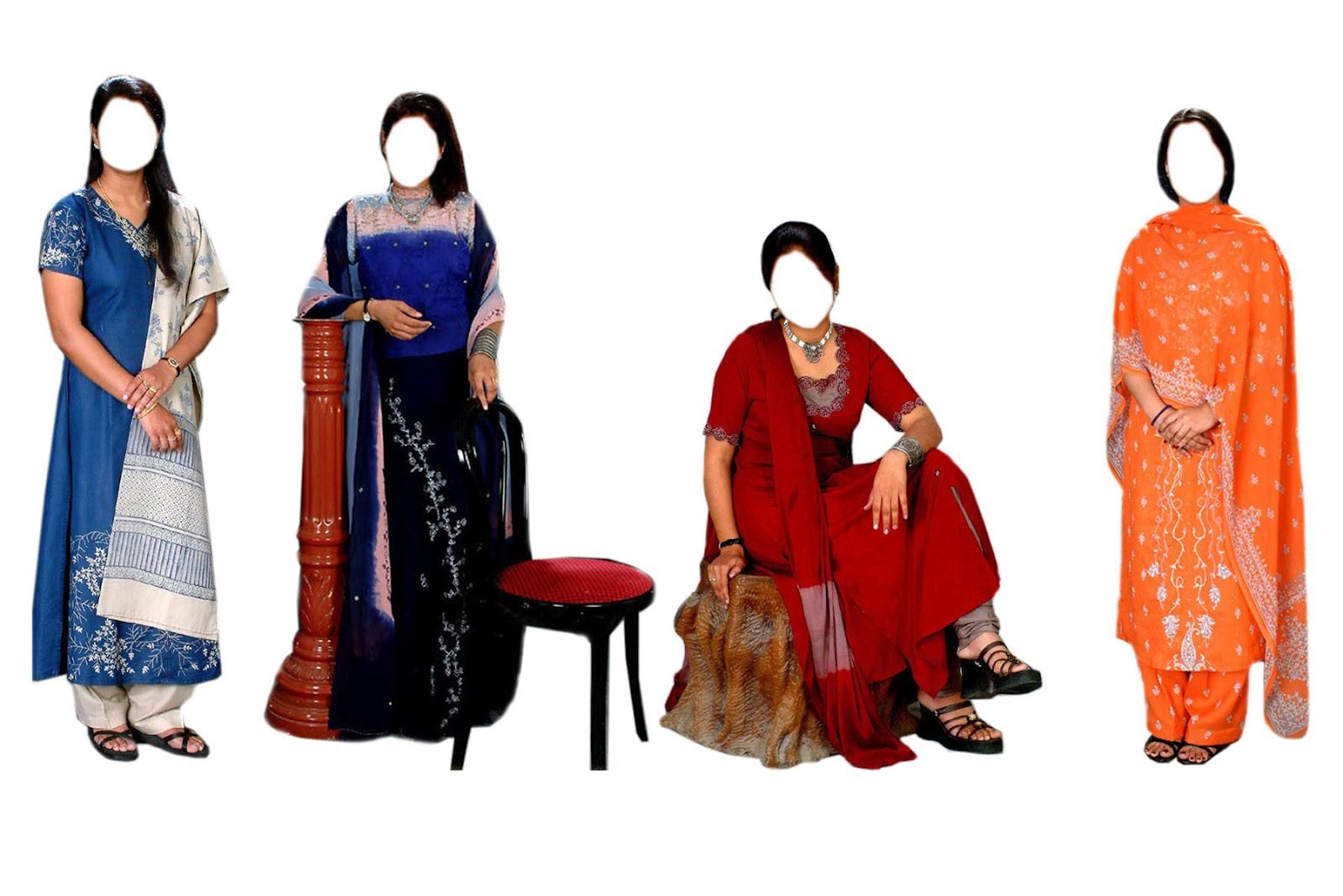 Aman Studio: Indian Suit duptta ,psd