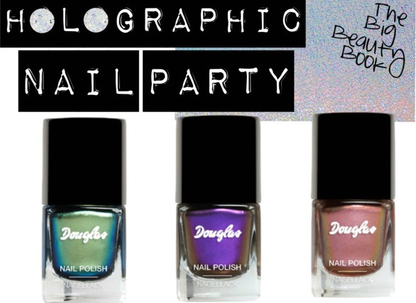 Holographic Nail Polish Holiday Nails