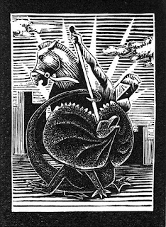 Greg Harrison wood engraving print