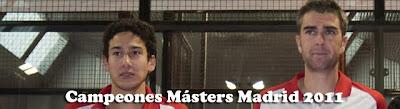 Campeones Masters Madrid 2011