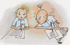 Berikut kerugian yang ditimbulkan dari kebiasaan menyontek saat mengerjakan tes / ujian