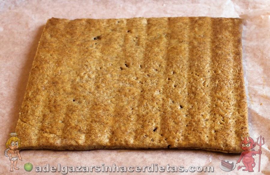 Receta saludable de Masa pastelera apta para diabéticos y baja en colesterol
