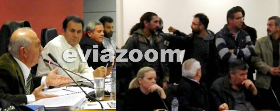 """Χαλκίδα: """"Σφαγή"""" στο δημοτικό συμβούλιο για τον προϋπολογισμό - Ανάθεση μελέτης σε στενό φίλο του Παγώνη, έκτακτες επιχορηγήσεις και προσλήψεις ειδικών συμβούλων με παχυλούς μισθούς (ΦΩΤΟ & ΒΙΝΤΕΟ)"""