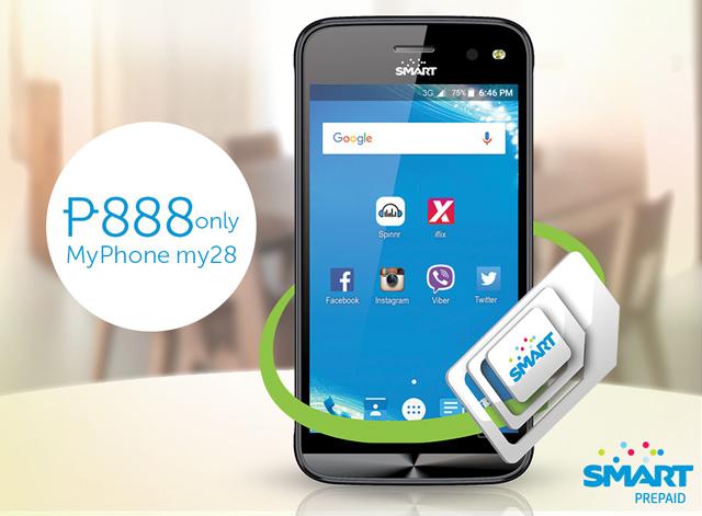 Smart MyPhone My28 Specs