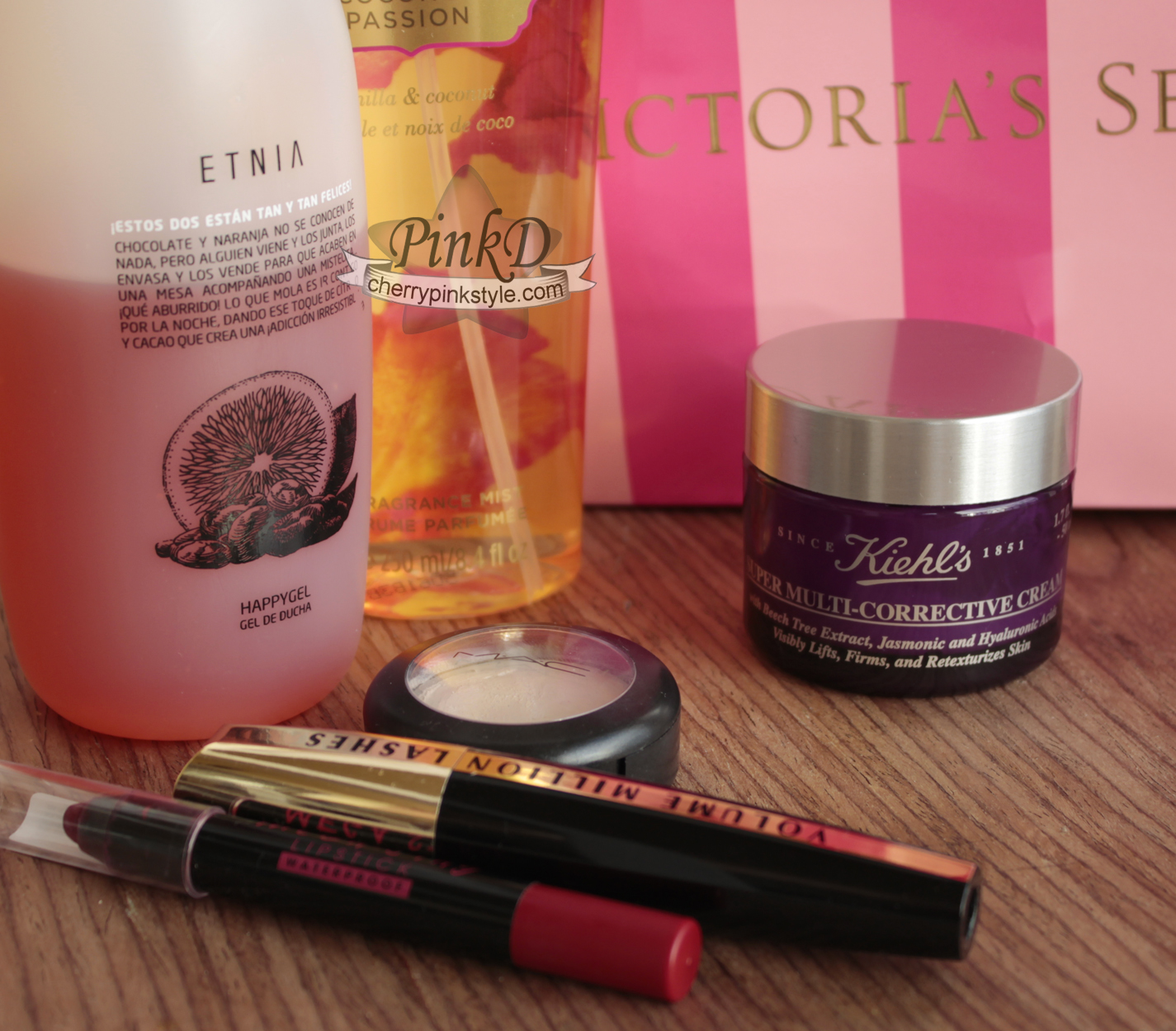 October favs MAC, KIEHLS, VICTORIAS SECRET