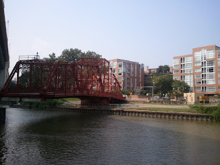 Spinning Bridge in the Flats of Cleveland