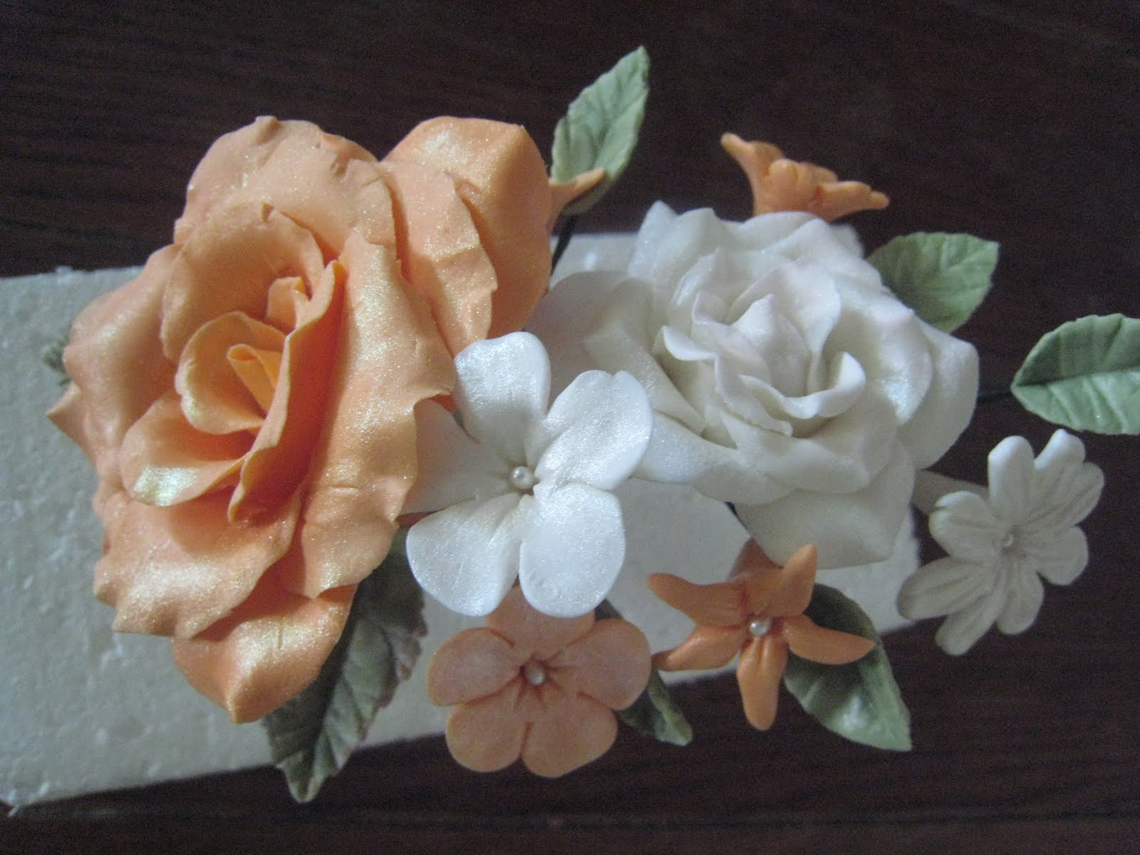 Judy Cakes Sugar Arts: Rose Flower Bouquet Class