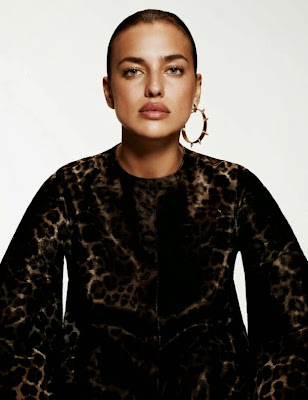 Irina Shayk Vogue Spain Magazine September 2014 Photoshoot