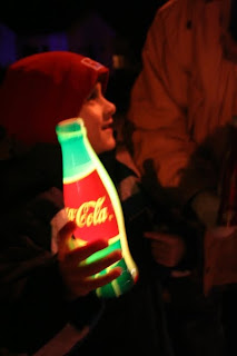 William as the Olympic Flame passes through Burlington, Ontario (December 2009) :: All Pretty Things
