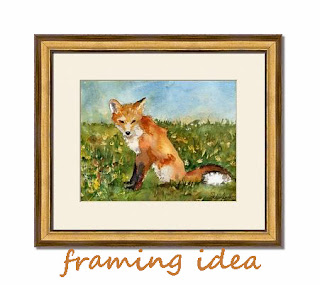 fox art | wall art for kids