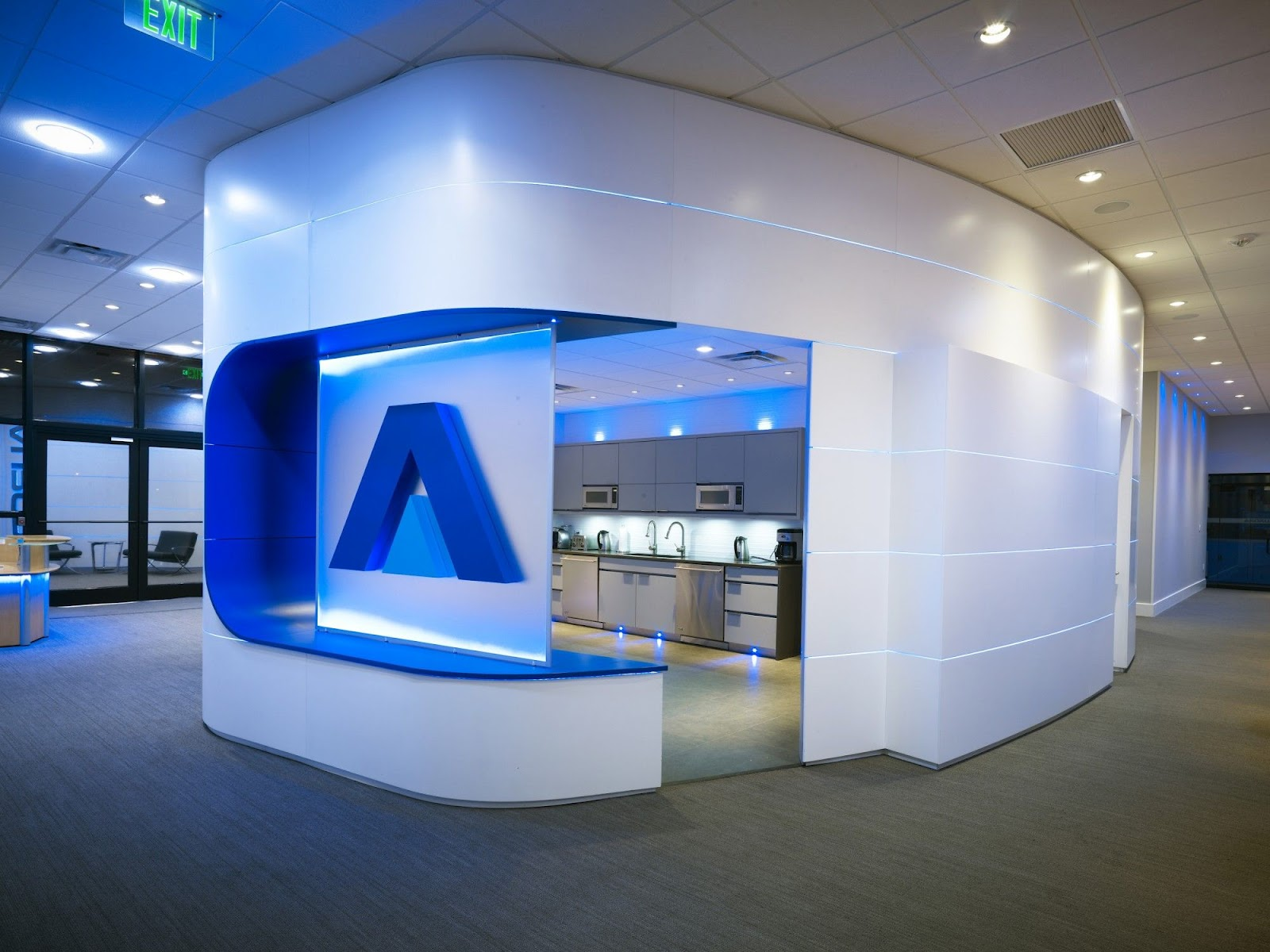Imagine these corporate office interior design aurora for Office interior design
