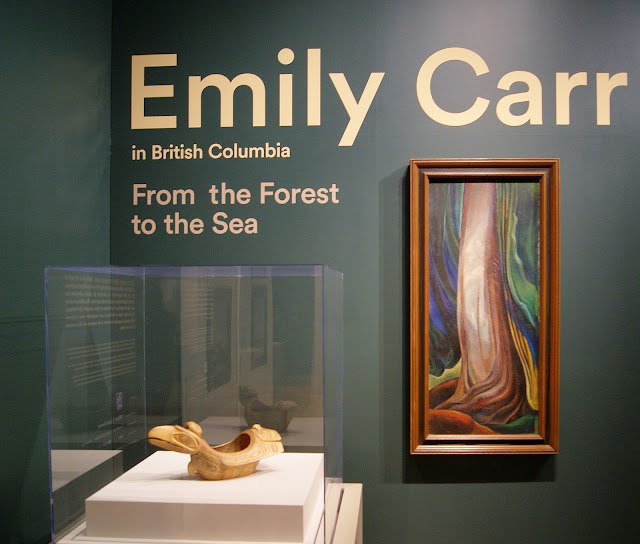 From the Forest to the Sea: Emily Carr in British Columbia Exhibit at Art Gallery of Ontario in Toronto, exhibition, paintings, forest, Canada, artist, woman, AGO, culture, art,artmatters, The Purple Scarf, Melanie.Ps, native, aboriginal