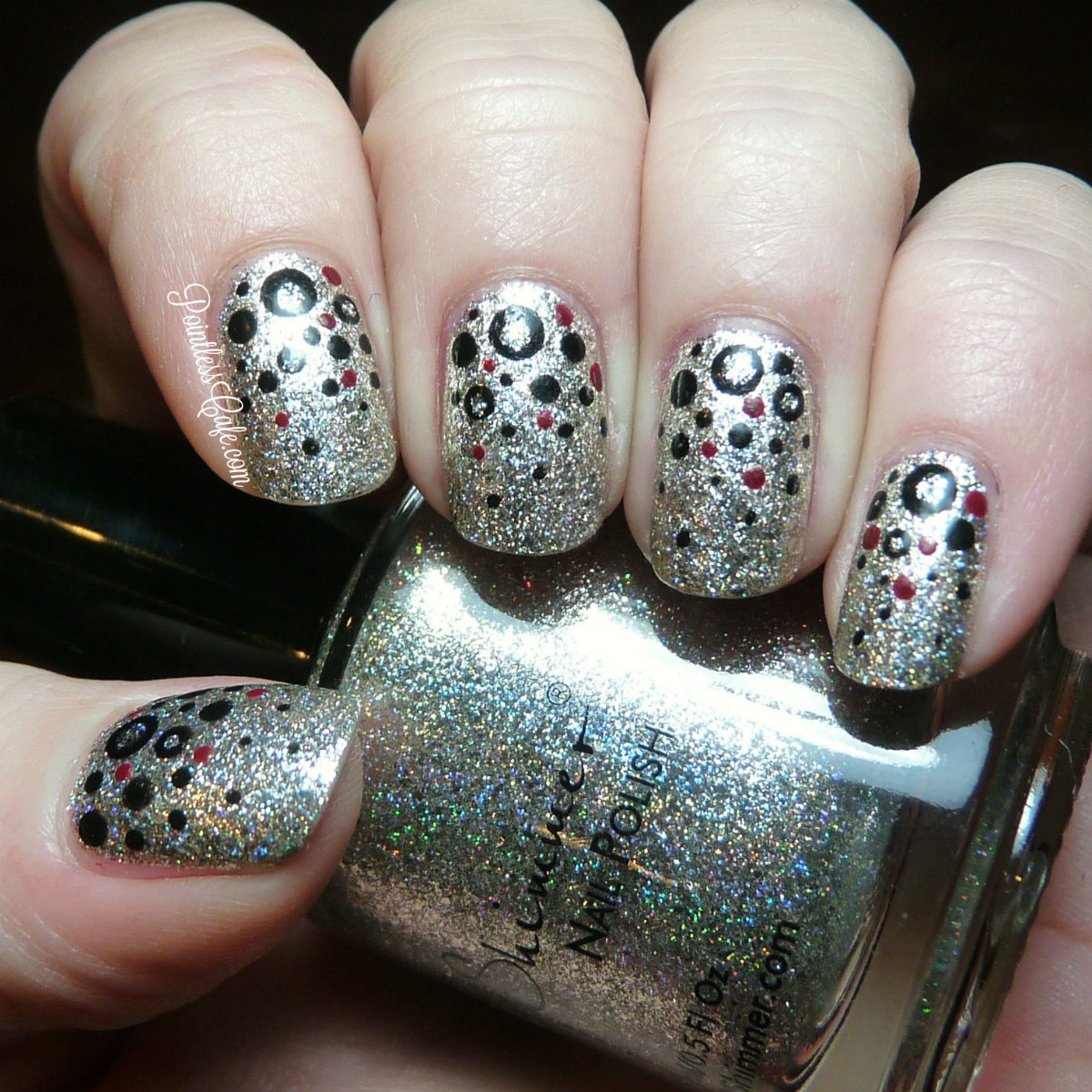 40 great nail art ideas happy new year pointless cafe hope everyone makes 2016 the best year yet prinsesfo Images