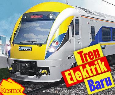 ETS atau Elektrik Train Set Ipoh Padang Besar Lebih Laju