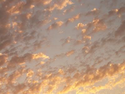 sunset sky nature photograph by Jennifer Kistler