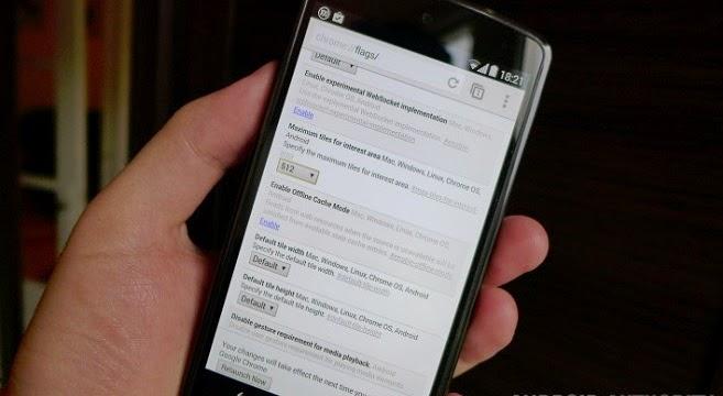 Trik Membuat Browser Chrome Android Lebih Cepat