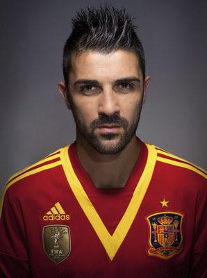 camiseta selección española 2013 Copa Confederaciones David Villa