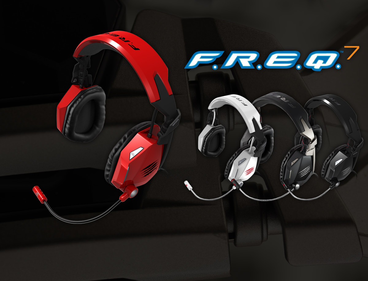 Mad Catz F.R.E.Q.7 Surround Sound Gaming Headset