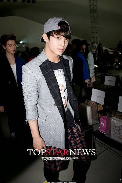 BtoB Hyunsik Seoul Fashion Week 2014