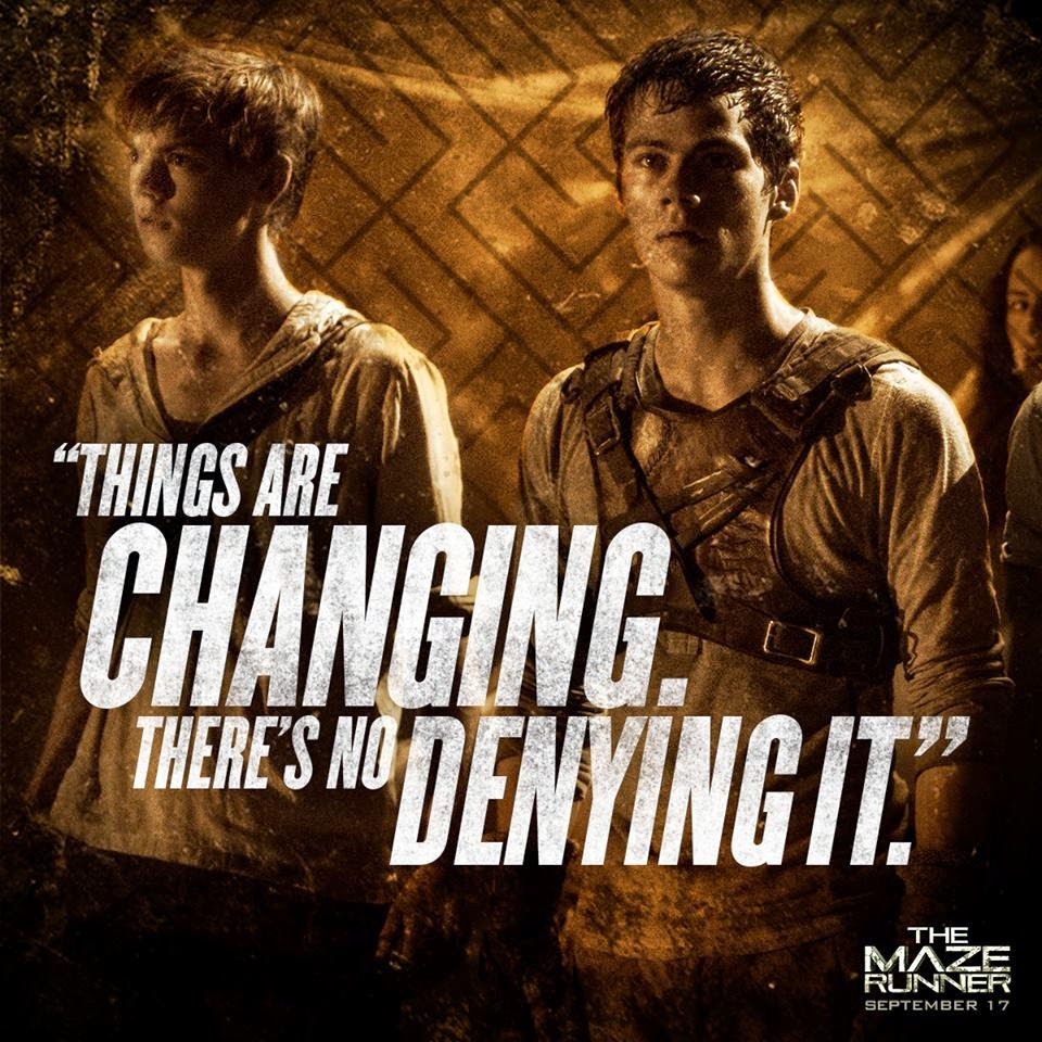 The Maze Runner Still9 Thomas and Gladers1