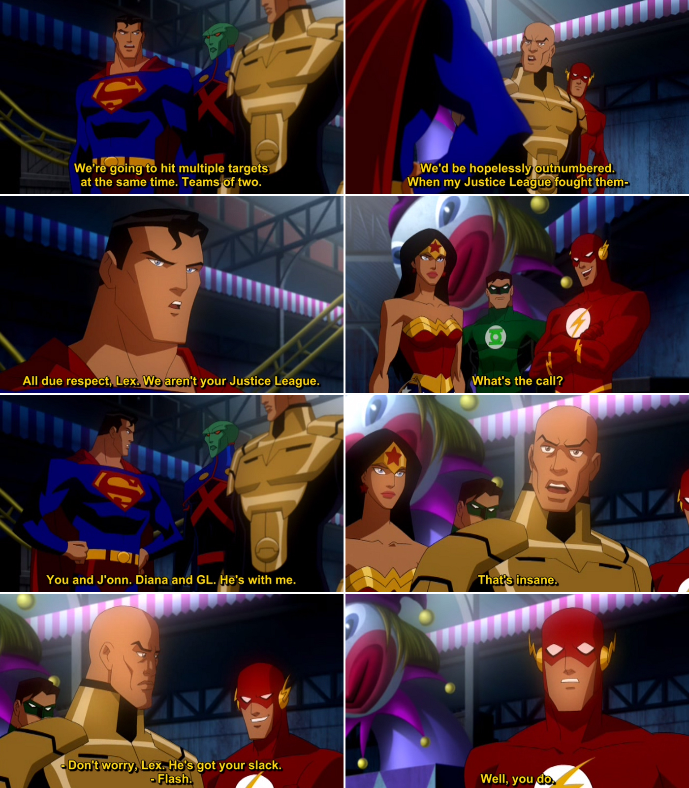 Justice League Crisis on Two Earths Quote-3