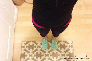 teal nikes, workout gear, fitness