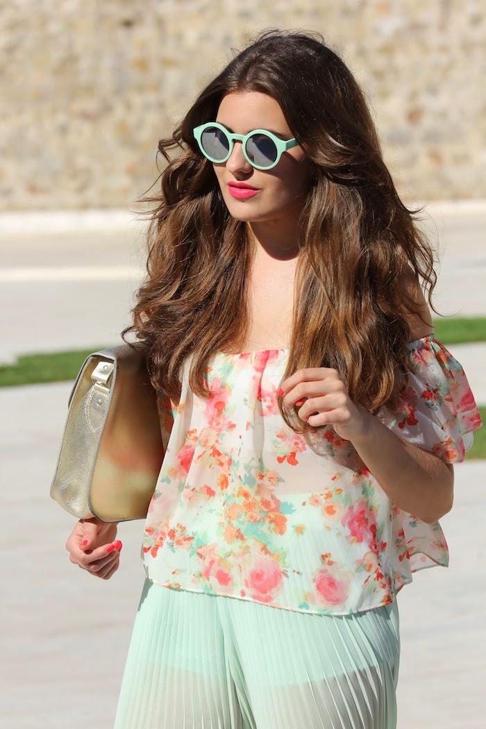 blusa_pints_estampada_estampado_flores_lowers_2014_summer_verano_spring_primavera_pasteles_pastel_color_mint_look_outfit_gafas_zara_angicupcakes04