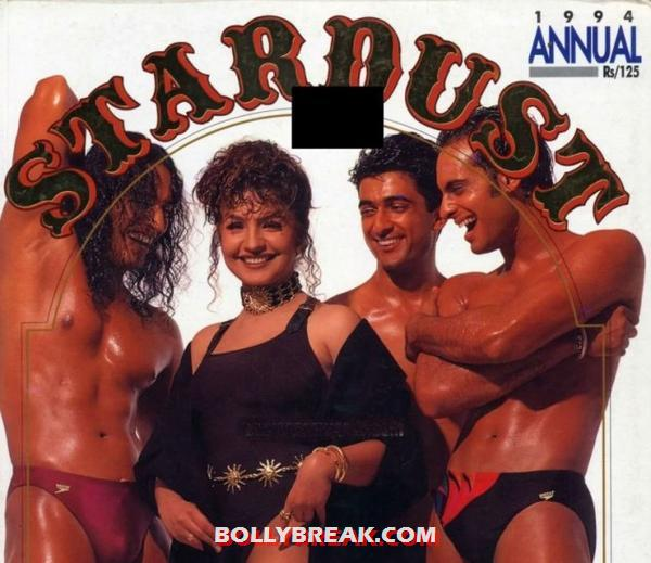 Pooja bhatt on stardust cover - (4) - Bollywood actresses who dared to pose with naked men
