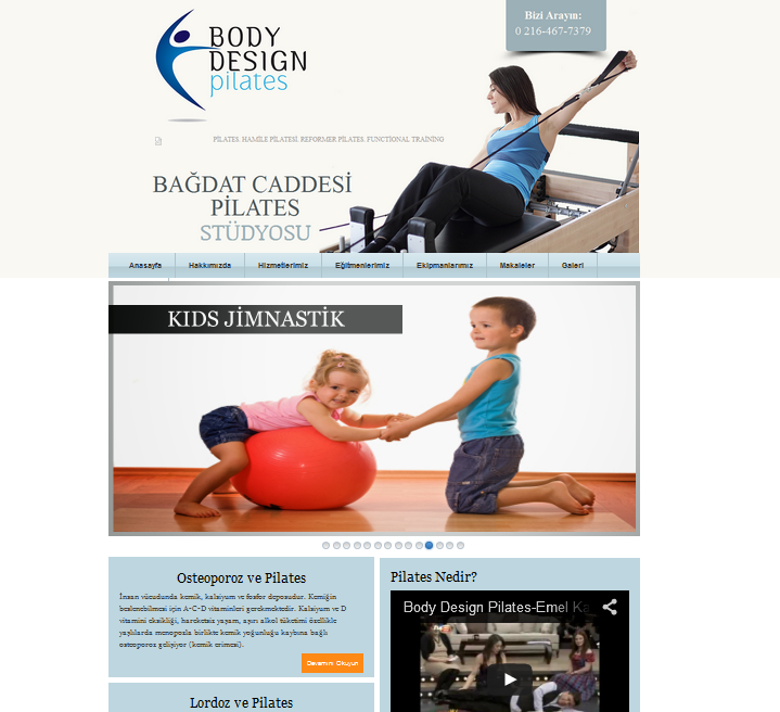 Blogger Body Pilates Teması