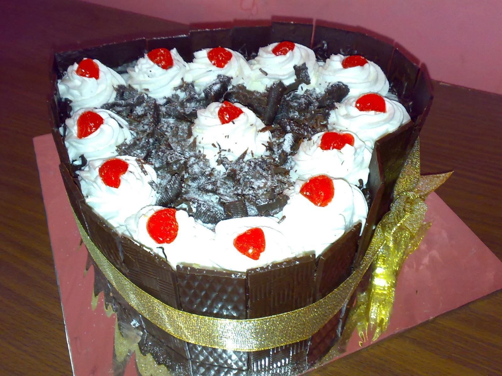 cake black forrest