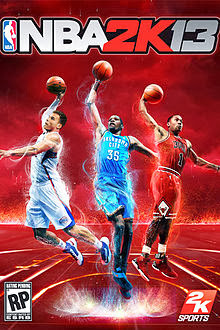 NBA 2K13 Game Cover