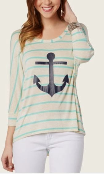 Rue 21 nautical spring 2014