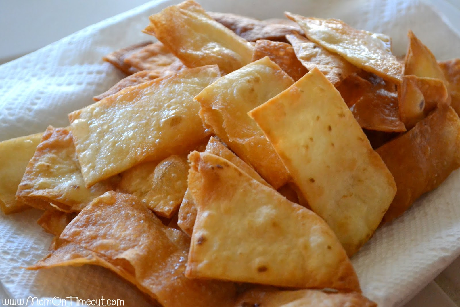 Homemade Flour Tortilla Chips Recipe - Mom On Timeout