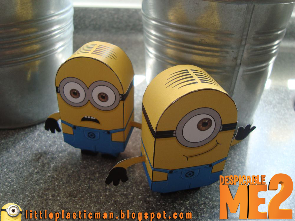 Minions Paper Toy